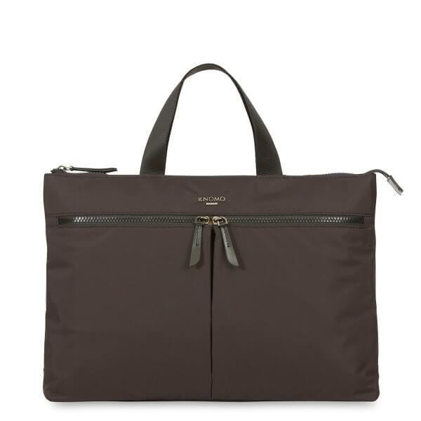 Copenhagen Ladies Briefcase (Black) - Classic Bags