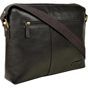 Fitch 02 Leather Messenger Bag (Black, Brown or Tan) - Classic Bags