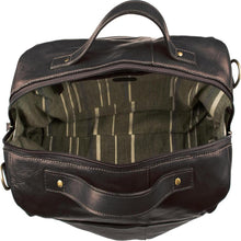 Fitch 03 Leather Holdall (Black, Brown or Tan) - Classic Bags