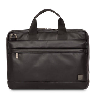 Foster Leather Laptop Briefcase (Brown or Black) - Classic Bags