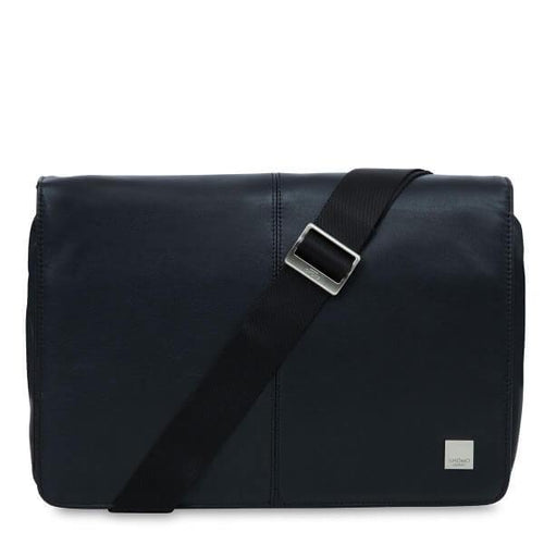 Kinsale Slim Cross Body Messenger Bag (Black or Brown) - Classic Bags