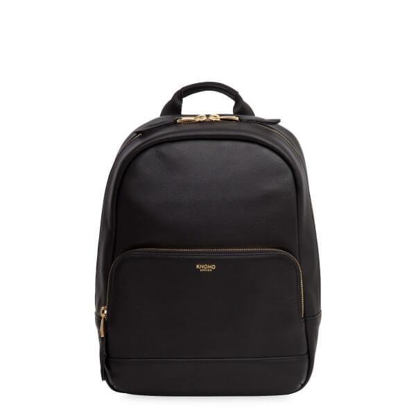 Mini Mount Ladies Leather Backpack (Black) - Classic Bags