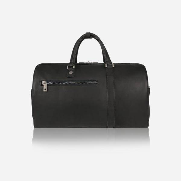 Soho 3820 Mens Small Leather Holdall (Black) - Classic Bags