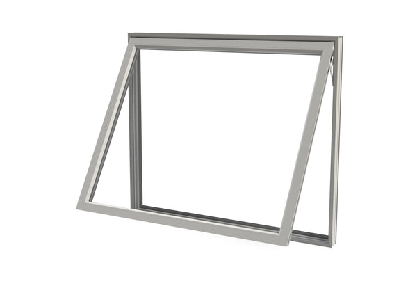 Double Pane Aluminum Awning Window