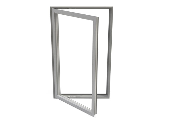 Double Pane Aluminum Casement Window