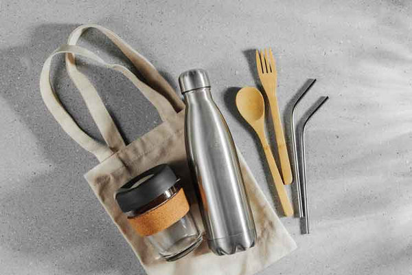 Plastic free toiletries and sustainable travel tips