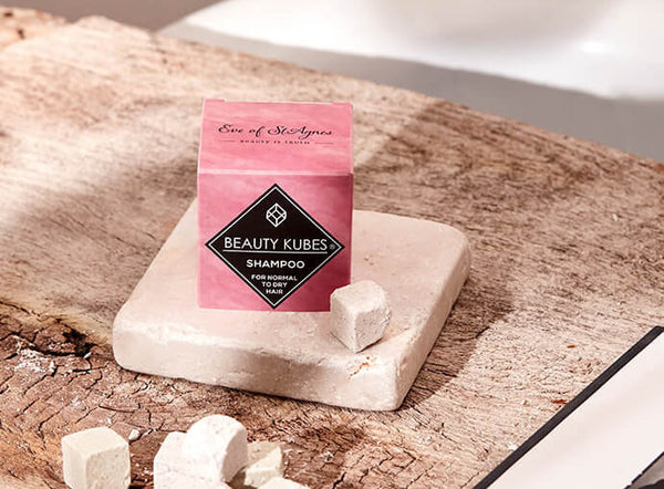 Beauty Kubes Plastic free shampoo at Selfridges
