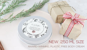 Plastic free body cream 250 ml