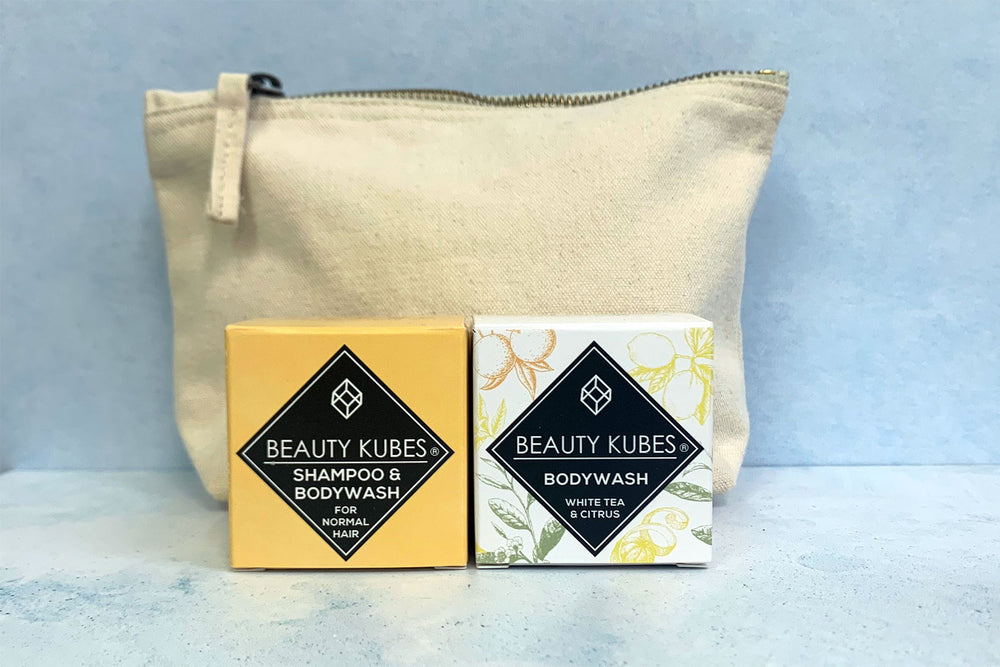 Beauty Kubes plastic free shampoo and body wash