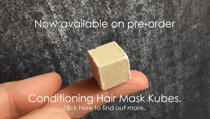 Beauty Kubes plastic free hair conditioner natural and vegan friendly