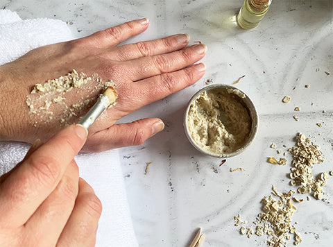 Beauty Kubes plastic free blog how to have a self care manicure at home