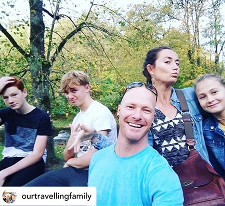 Beauty Kubes plastic free ambassador our travelling family