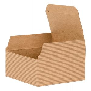 recycled cardboard sustainable gif box by tiny box company