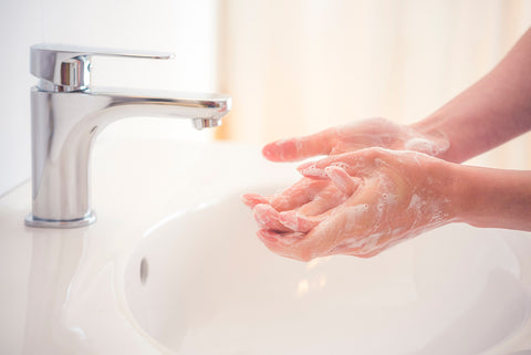 Beauty Kubes how to combat dry hands during lockdown plastic free blog