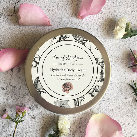 Body Cream plastic free, vegan friendly, zero waste