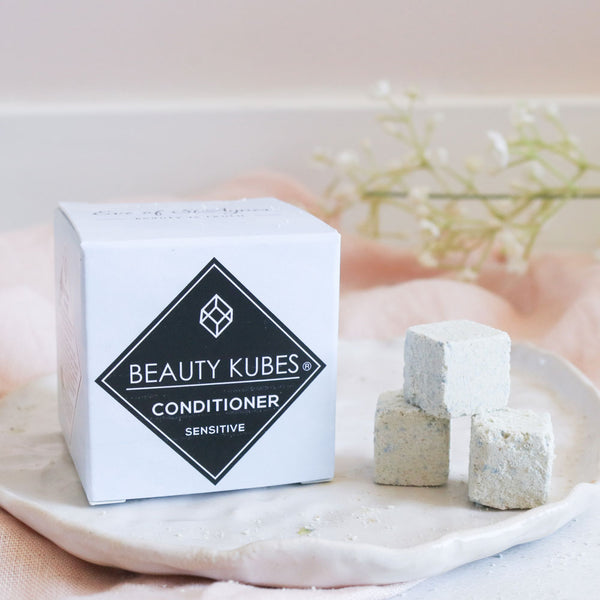 Beauty Kubes plastic free conditioner cubes for sensitive skin