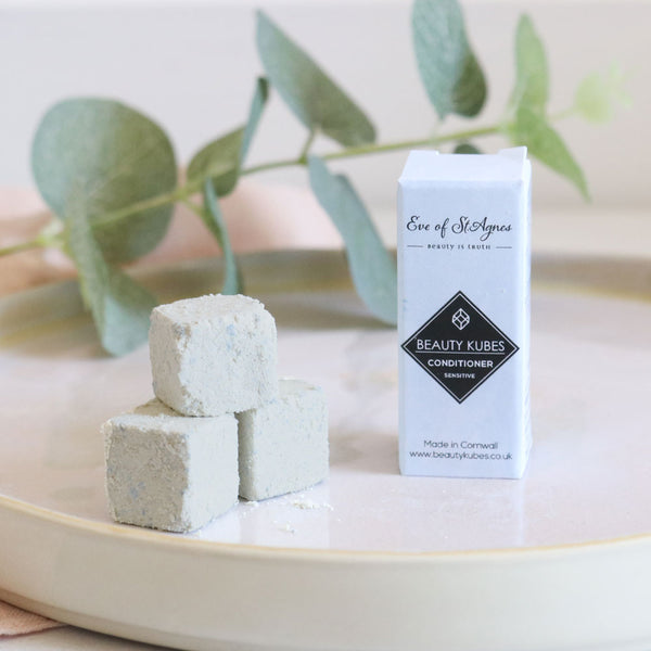 Beauty Kubes plastic free solid conditioner cubes, vegan zero waste