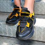 Adidasi Dama Marta - Black/Yellow