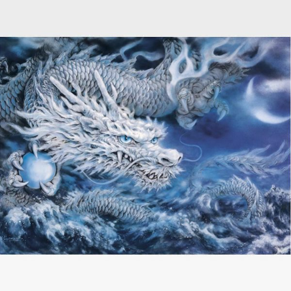 Dragon Paint By Numbers Kit - Painting By Numbers Kit - Artwerkes