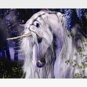 Unicorn Paint By Numbers Kit - Painting By Numbers Kit - Artwerkes
