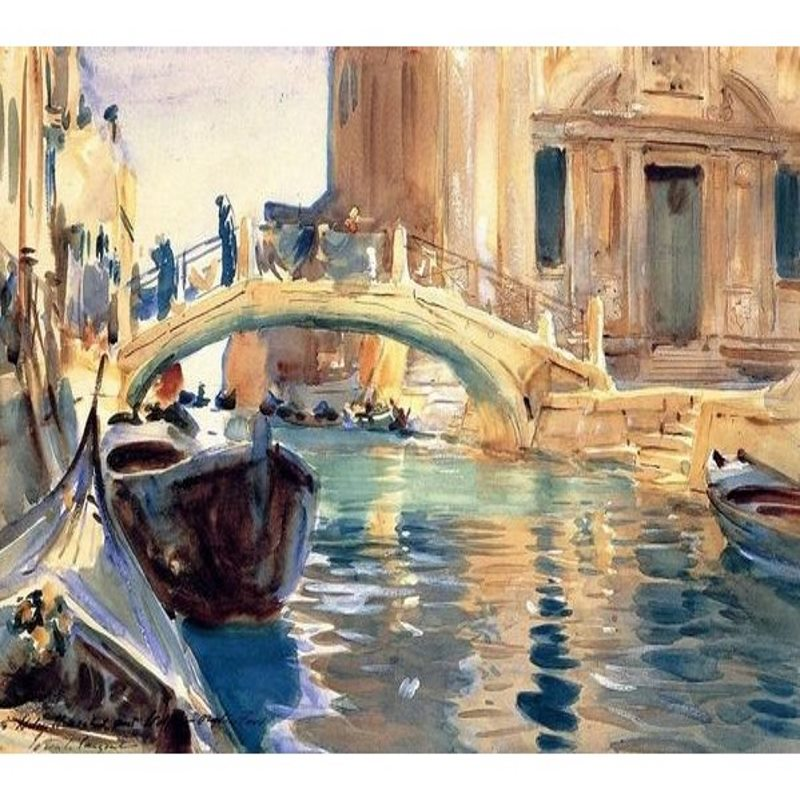 Venice - John Singer Sargent Paint By Numbers (30x40cm) - Painting By Numbers Kit - Artwerkes