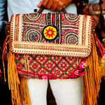 Premium Big Banjara Fringe Bag