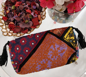 Banjara Coin Work Clutch Bag3