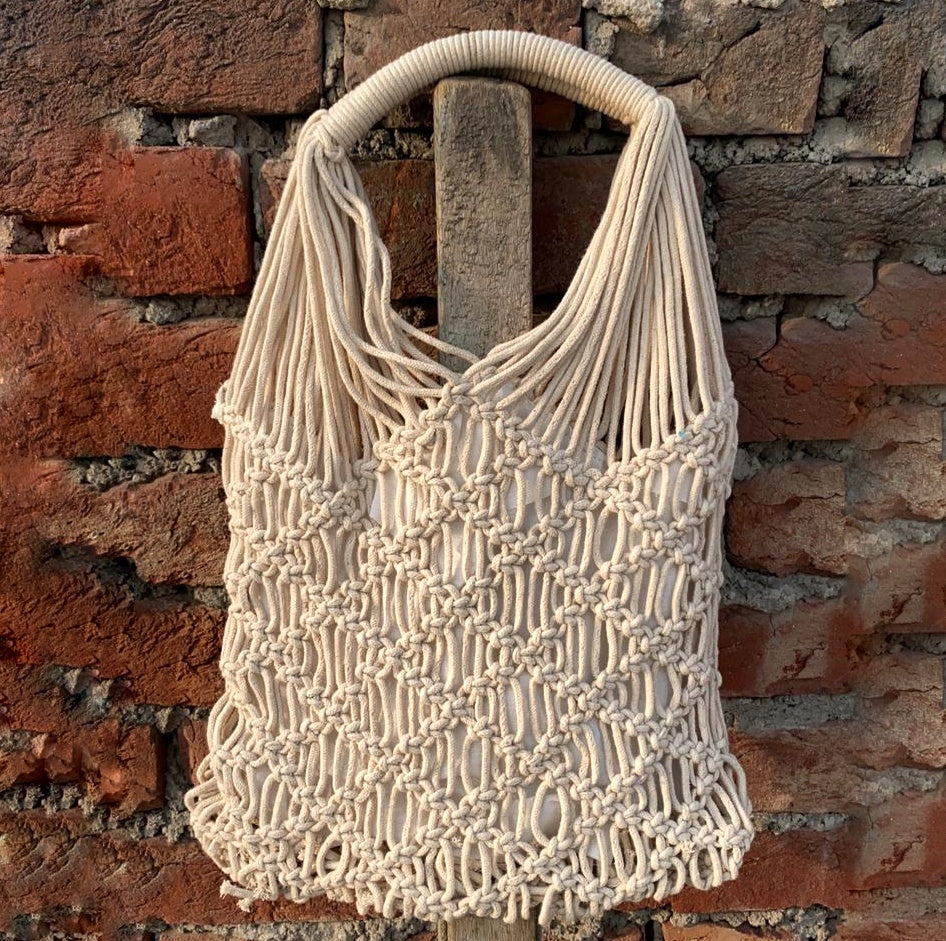 Macrame Tote1 - Medium