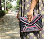The Bling Spectrum -Beaded Bohemian Bag