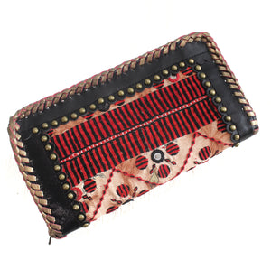 Premium Leather Banjara Wallet7 - Black