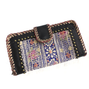 Premium Leather Banjara Wallet9 - Black