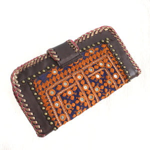 Premium Leather Banjara Wallet10 - Choclate Brown