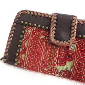 Premium Leather Banjara Wallet12 - Choclate Brown