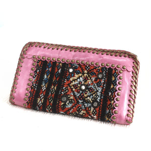 Premium Leather Banjara Wallet18 - Creamy