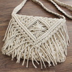 Macrame Off-White Sling - Small