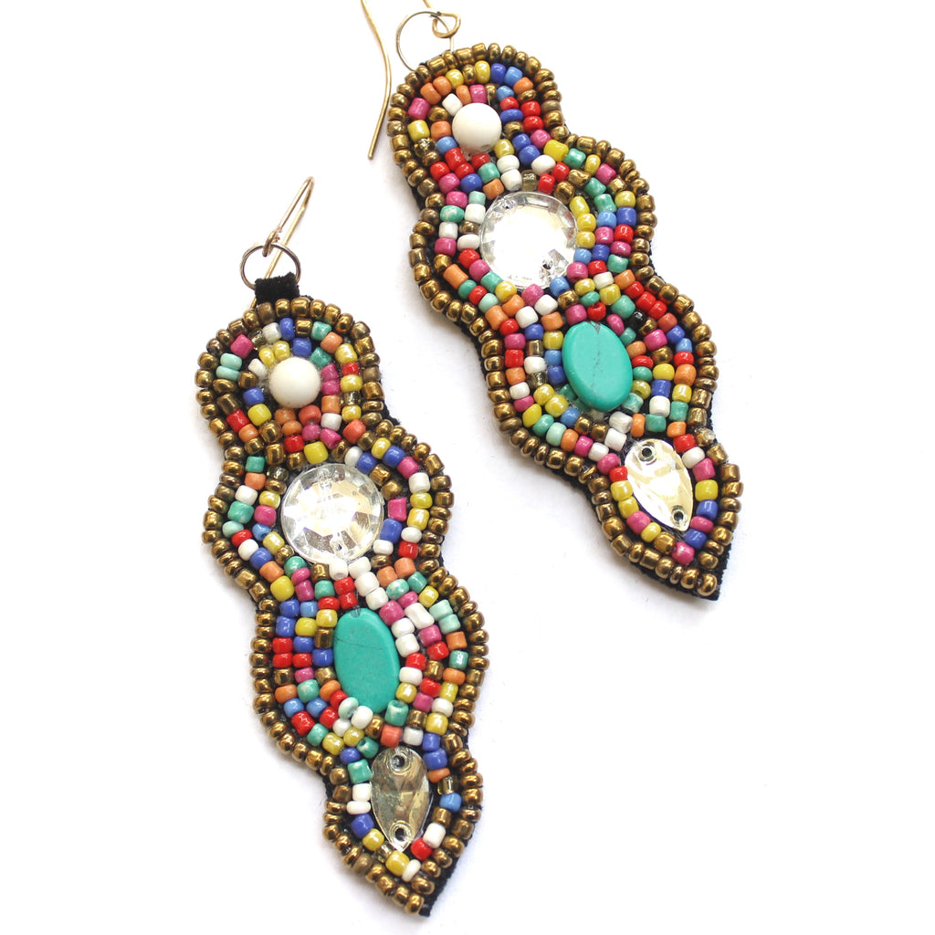 Bohemian Beaded Earring8