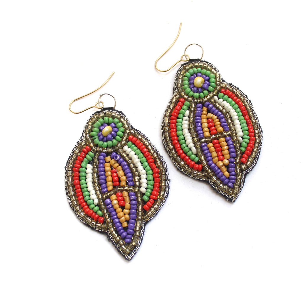 Bohemian Beaded Earring21
