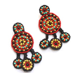 Bohemian Beaded Earring23