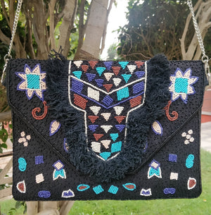 Black Beauty Bohemian Bag