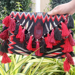 Scarlett Muticolor Bohemian Clutch Bag