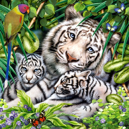 Howard Robinson Art | White tigers