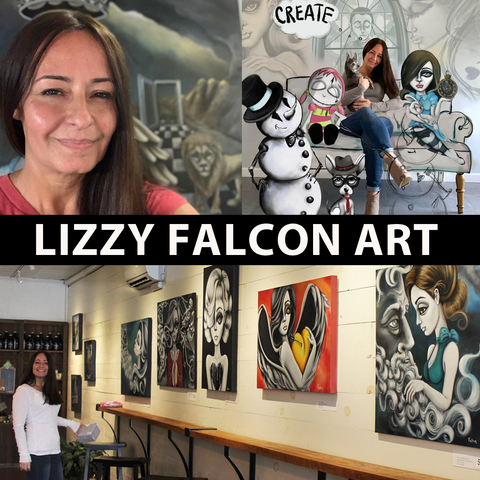 Lizzy Falcon Art