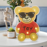 Teddy Bears | LED Light | Diamond Painting - Treasure Studios Art