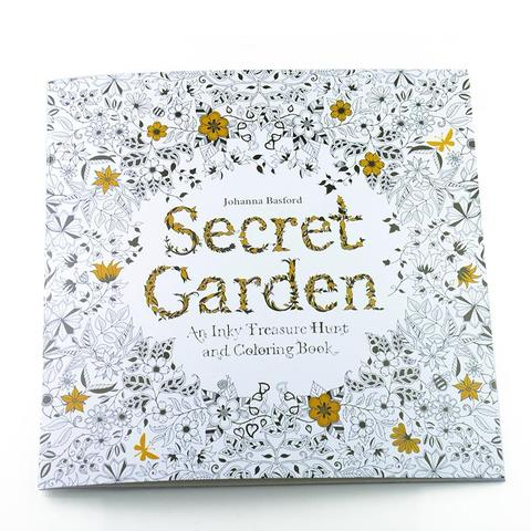 Secret Garden  | Adult  Coloring Book - Treasure Studios Art