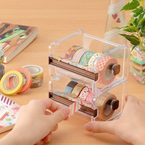 Washi Tape Storage Box & Cutter