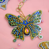 Set of 5 Butterfly | Key Chains | Diamond Painting - Treasure Studios Art