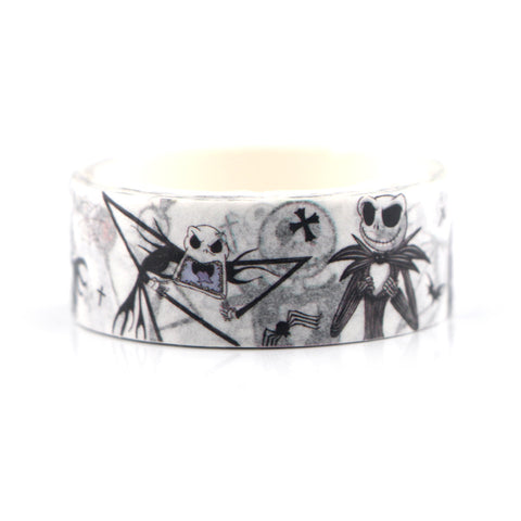 Creepy Halloween Washi Tape