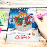 Snowman Journel A5 Notebook | Diamond Painting - Treasure Studios Art