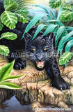 Black Panther by Howard Robinson | Diamond Painting - Treasure Studios Art