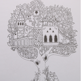 Enchanted Forest  | Adult Coloring Book - Treasure Studios Art